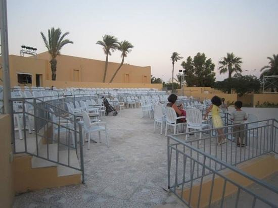 Skanes Family Resort: amphitheatre opening night before guests arrived