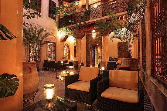La Maison Arabe: Lobby Lounge