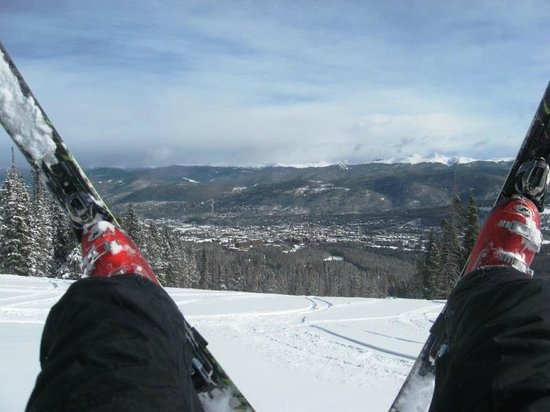 Trails End Condominiums: Breck fun with a view