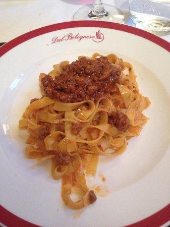 Dal Bolognese: Delicious Tagliatelle Bolognese