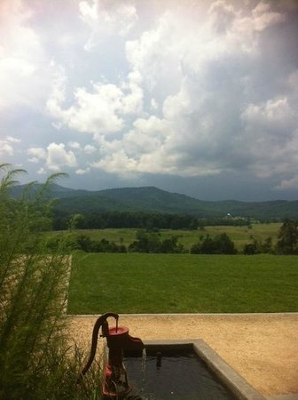 Pippin Hill Farm & Vineyards: View from the Front Porch