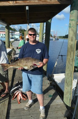 The friendliest crew in calabash picture of calabash for Calabash fishing fleet