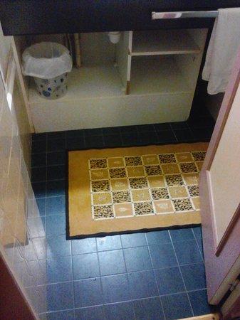 Hotel de Bourgogne : Salle de bain