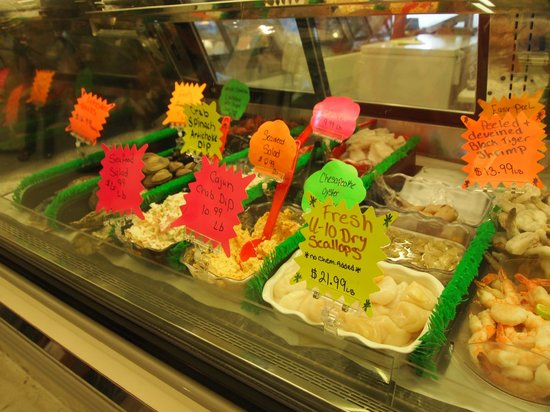 Findlay Market : Seafood to die for!