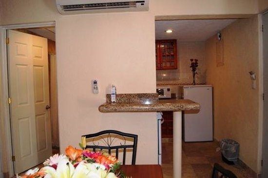 Villamar Princesa Suites: Kitchen