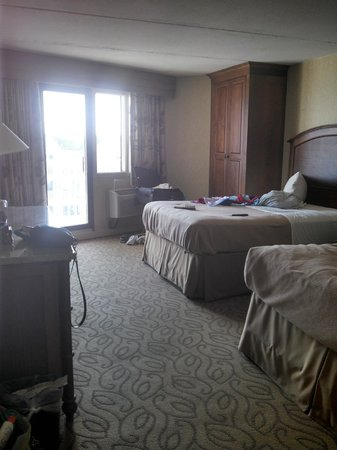 Icona Golden Inn : Our room (2 double beds)