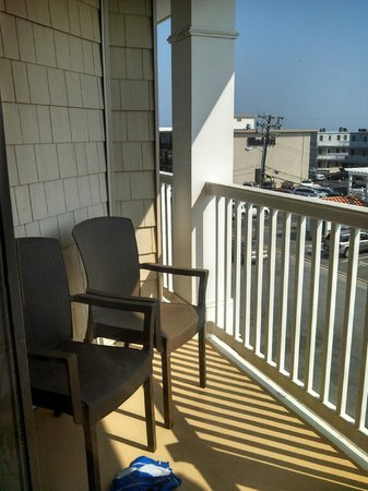 Golden Inn Hotel : Balcony