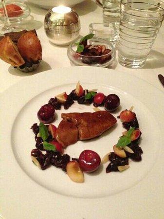 W St. Petersburg restaurant : Foi gras