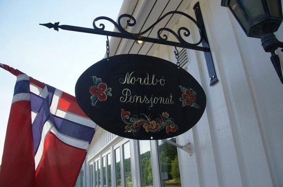 Nordbo Pensjonat: Eingang