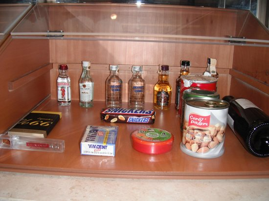 Divan Istanbul: frigo bar