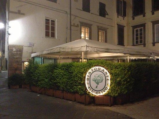 Ristorante all'olivo: Terrace with privacy