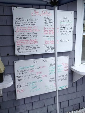 Wareham, MA: menu