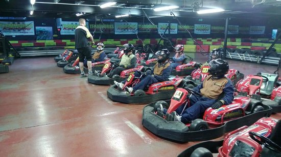 Karting in reading