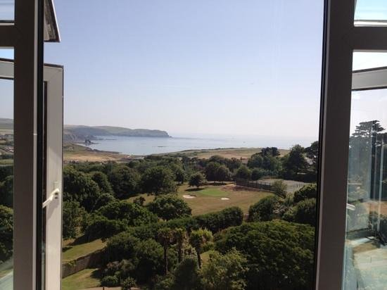 Thurlestone Hotel: The beautiful view from room 361