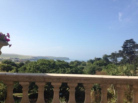 Thurlestone Hotel : view from sat on the veranda
