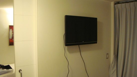 Departamento Amoblado Costa Nueva de Lyon : Quarto com TV