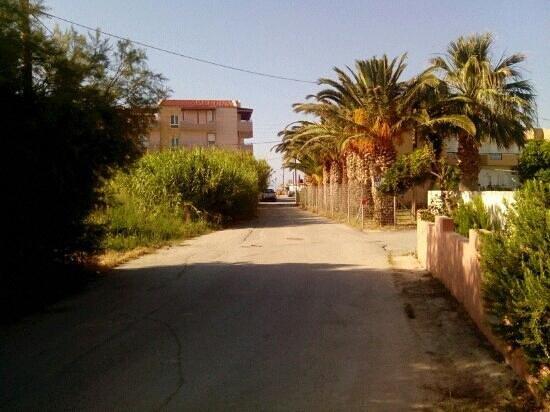 MariRena Hotel: beach way- naxou street