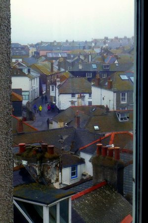 Tate Gallery St. Ives: View of St Ives from the cafe