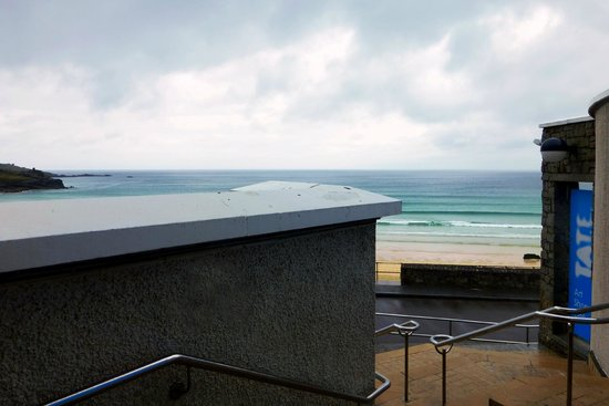 Tate Gallery St. Ives: Entrance to the Gallery