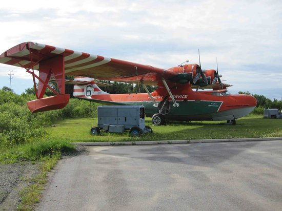 North Atlantic Aviation Museum: PBY Canso water bomber