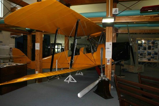 North Atlantic Aviation Museum: DH Tiger Moth trainer