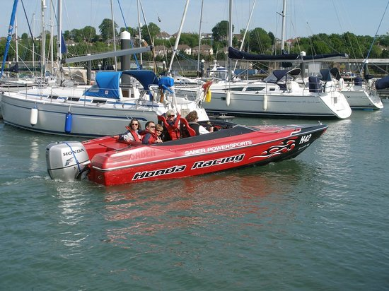 Saber Powersports: Heading out of Shamrock Quay