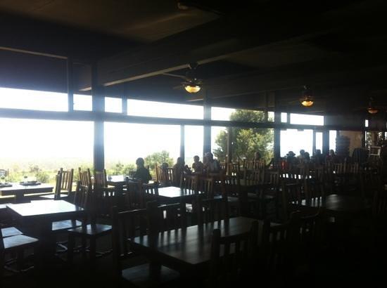 Far View Terrace Restaurant: dining area