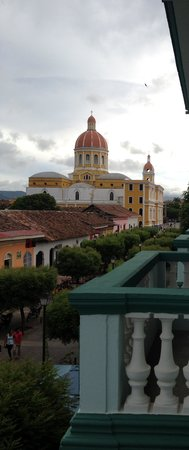 Hotel Dario: View from balcony of cathedral