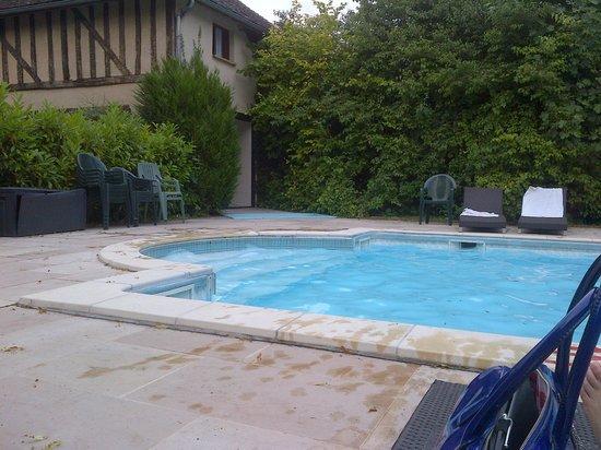 Logis Le Tadorne : piscine