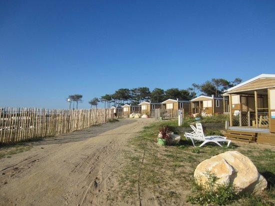 Camping Sandaya Soulac Plage: Chalets