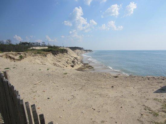Camping Sandaya Soulac Plage: Uitzicht op strand