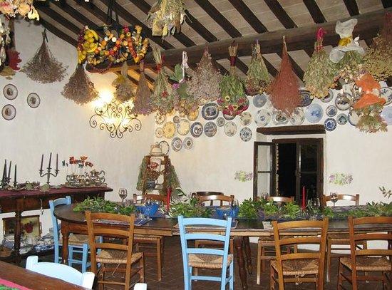 Agriturismo Castello della Paneretta: dining room