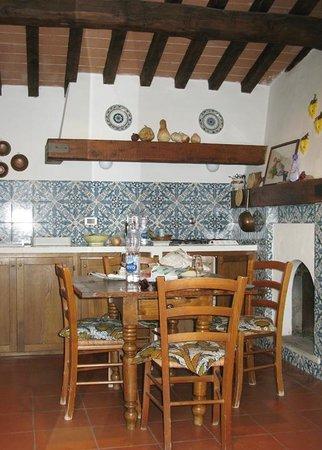 Agriturismo Castello della Paneretta: our kitchen