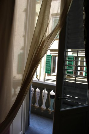 Hotel La Casa di Morfeo: the only room with a balcony!