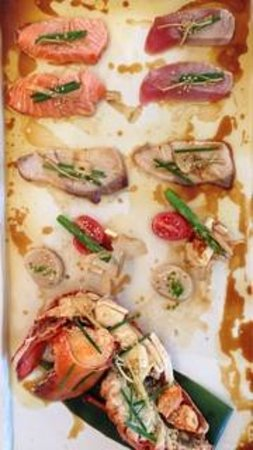 Damindra: sizzling sashimi