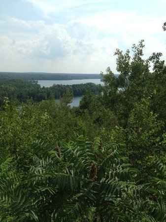 Cuyuna Country State Recreation Area: Scenic from lookout