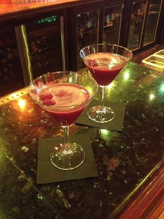 The Clubhouse: Raspberry Martinis
