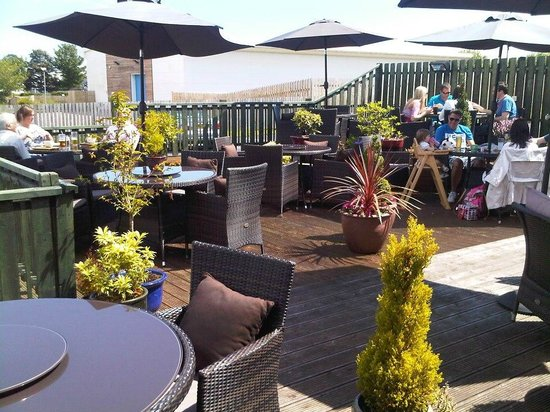 The Clubhouse: Unwind in our fabulous outdoor decking!
