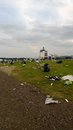 York Racecourse : The aftermath of a days racing