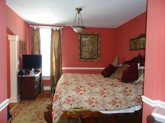 Bayfront Marin House Historic Inn : The Burgess Room