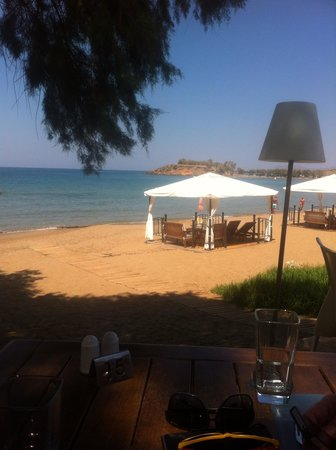 SENSIMAR KALLISTON Resort & Spa by ATLANTICA: Lunch at the Greek taverna