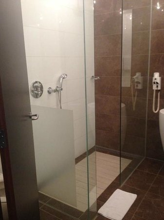 Van der Valk Hotel Den Haag-Nootdorp: Modern Walk In Shower