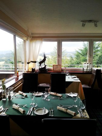 Knock Castle Hotel & Spa: Rooftop restaurant