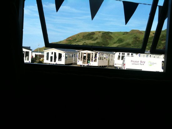 Pease Bay: The view from inside the restaurant