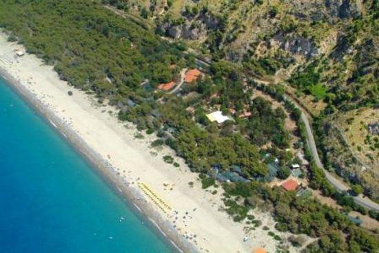 Villaggio Odissea: Veduta aerea