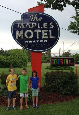 Maples Motel: Great place to stay, we loved it!!!