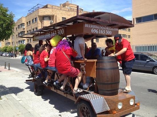 Beerbikemadrid. Com : Beerbike en Valdemoro
