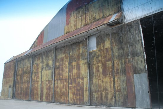 "Historic Wendover Airfield: ""Enola Gay"" Hangar (still under removation)"