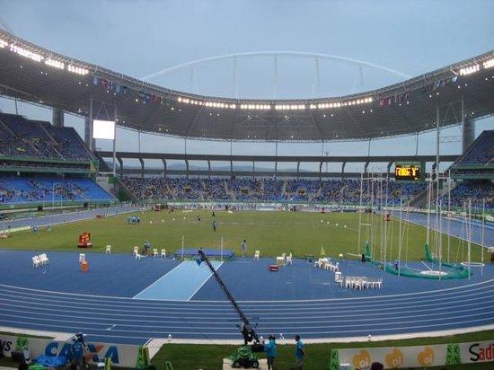 Estadio Olimpico Nilton Santos : Engenhão (Estádio João de Havelange)
