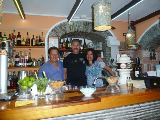 Cocktail Bar Il Cappuccino Food & Drink: The owners of Lounge bar Il Cappuccino